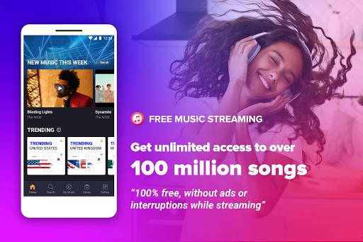 Free Music Streaming: Trending for Tube Music Song  screenshots 1