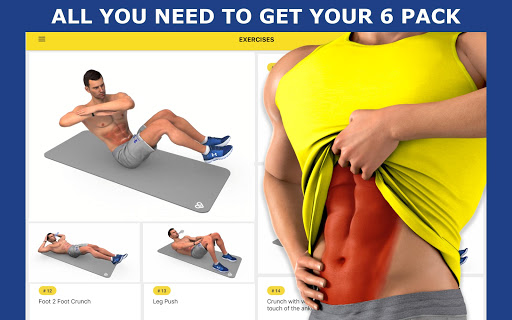 Abs Workout - Daily Fitness 4.7.9 Screenshots 8