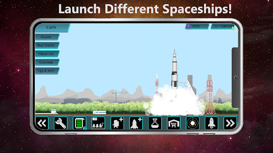 Tiny Space Program Mod Apk 1.1.377 (Lots of Credits/Crystals/Research Points) 4