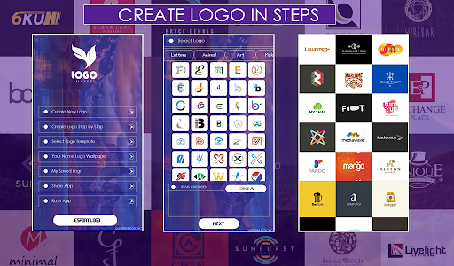 Logo Maker Free - Logo Maker 2020 & Logo Designer 4.6.0 Screenshots 1