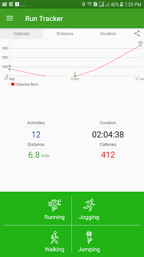 Run Tracker screenshot 1
