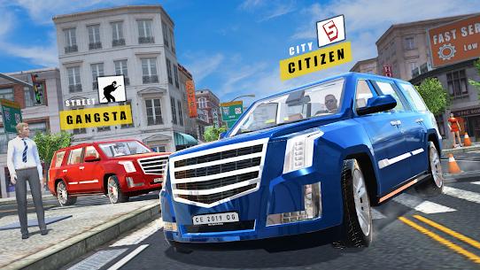 Car Simulator Escalade Driving 3