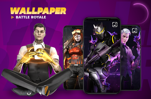 Code Triche Battle Royale Wallpapers HD | 2020 APK MOD (Astuce) screenshots 1