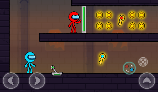 Red and Blue Stickman : Season 2 android2mod screenshots 9