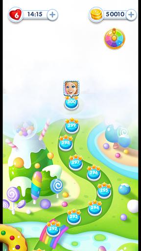 Code Triche Sweet Candy Sugar: Match 3 Puzzle 2020 (Astuce) APK MOD screenshots 3