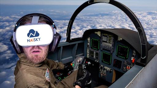 VR AirPlane Flight Simulator 1 screenshots 1