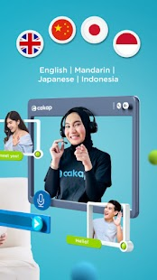 Cakap - Online Language Learning Screenshot