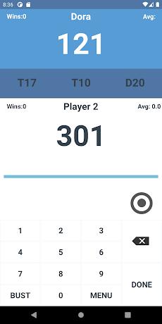 Darts Score Easy scoreboardのおすすめ画像4