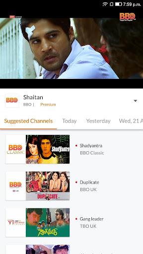 YuppTV - LiveTV, Movies, Music, IPL Live, Cricket screen 2