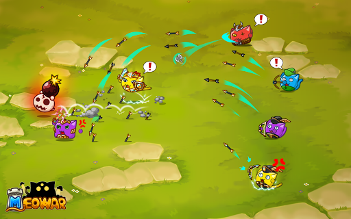 Meowar - PvP Cat Merge Defense TD  screenshots 8