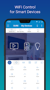 SURE – Smart Home and TV Universal Remote 2