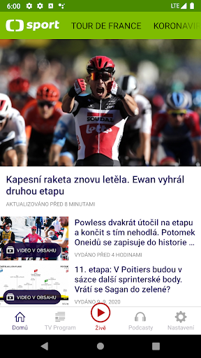 u010cT sport 2.1.0 Screenshots 2