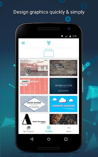 Business Card Maker 4.1.1 screenshots 1