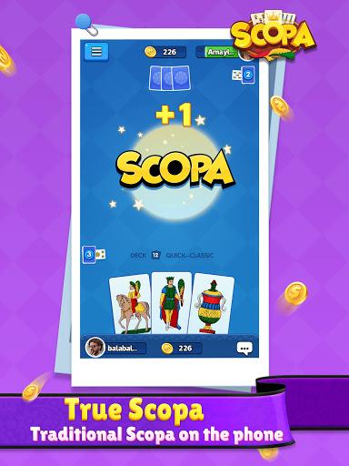Scopa:Italian Card Game online 1.1.9.0 screenshots 13