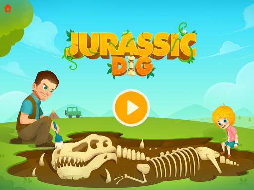 Jurassic Dig - Dinosaur Games for kids apkmr screenshots 6