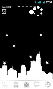 Night Sky Bot Live Wallpaper