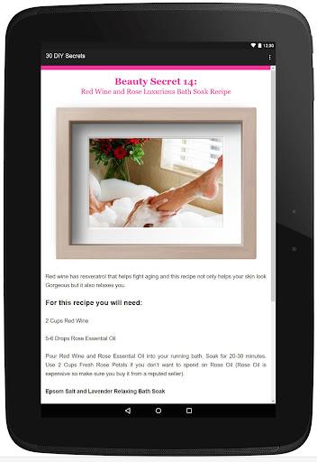 30 Beauty Secrets for Women  Screenshots 6