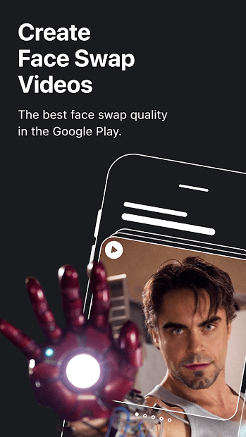 REFACE: Face swap videos and memes with your photo Android App Screenshot