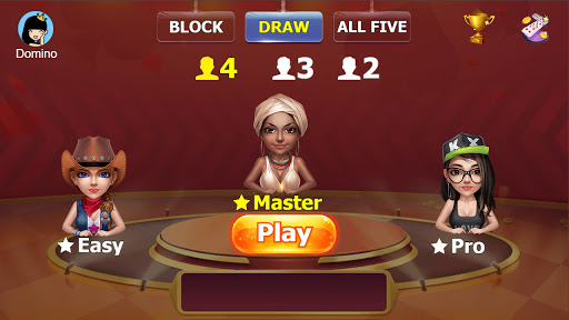 Dominoes Offlineuff1aClassical Block Draw All Fives apkpoly screenshots 5