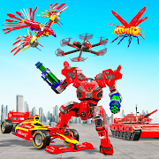 Multi Robot Transform game – Tank Robot Car Games