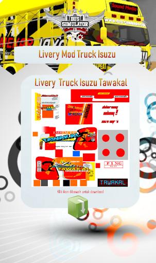Livery Mod Truck Isuzu NMR71 4.0 Screenshots 2