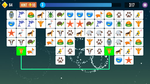 Pet Connect, Tile Connect Game, Tile Matching Game  screenshots 4