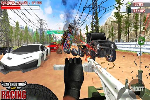 Car Racing Sniper Vs Thieves - Shooting Race games  screenshots 3