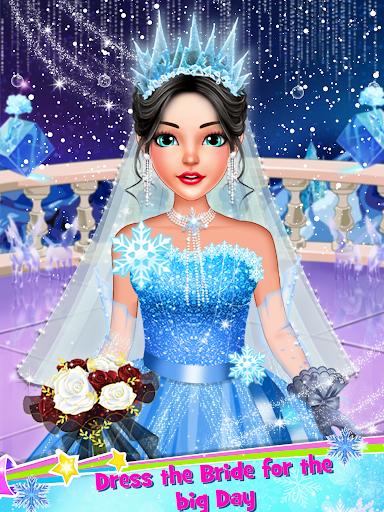 Ice Princess Wedding Dress Up Stylist 0.8 screenshots 5