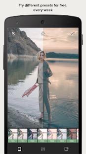 Presco - Edit your photos like a professional Screenshot