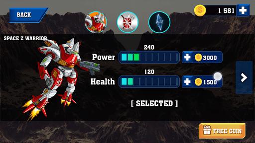 Robot Warrior Apkfinish screenshots 13