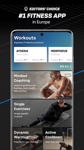 Freeletics Training Coach – Bodyweight & Mindset 6.45.0 screenshots 1