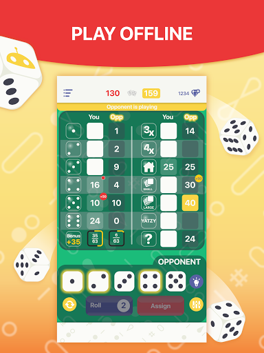 Yatzy - Dice Game  screenshots 11