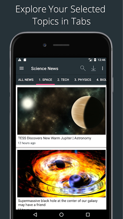 Science News Daily: Science Articles and News App  poster 2