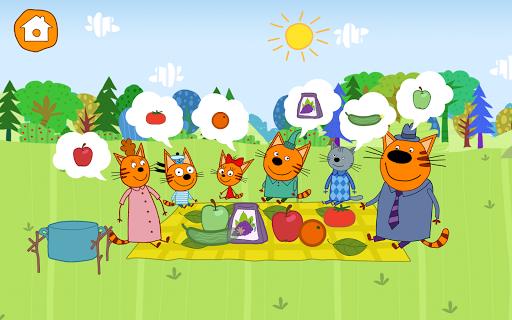 Kid-E-Cats: Picnic with Three Catsu30fbKitty Cat Games  screenshots 15