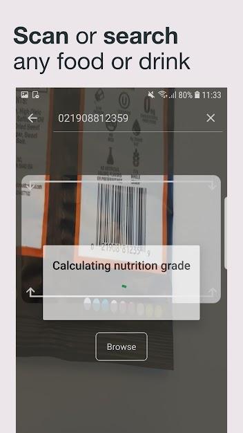 تطبيق فوديوكيت Fooducate لانقاص الوزن