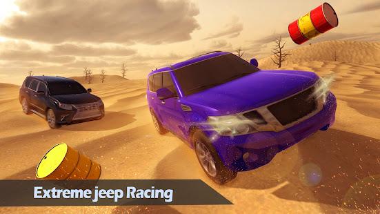 Sand Safari Jeep 4x4 Driver- Jeep Driving Games 1.9 Screenshots 2