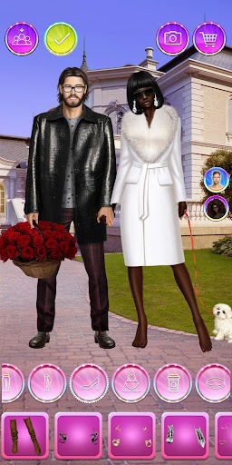 Celebrity Fashion Makeover - Dress Up Games 1.1 screenshots 24