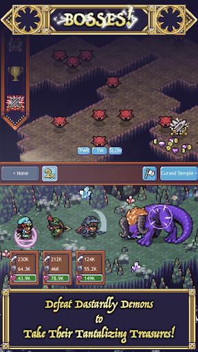 Cave Heroes: Idle Dungeon Crawler modavailable screenshots 2