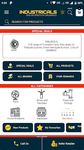 industricals retailers app screenshot 3