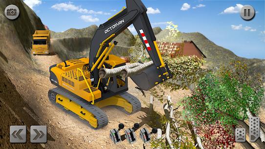 Sand Excavator Simulator 2021: Truck Driving Games 6