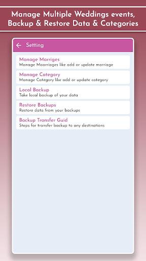 Wedding Planner & Organizer, Guest Checklists 1.2 Screenshots 9