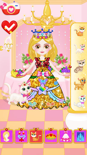 Princess Makeup Dress Design Game for girls goodtube screenshots 2