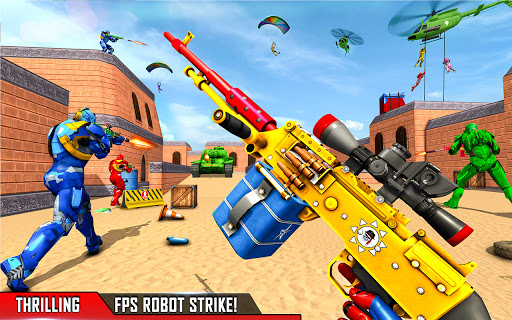 Fps Robot Shooting Strike: Counter Terrorist Games  screenshots 7