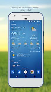 Weather & Clock Widget for Android 6.3.1.2 Screenshots 3