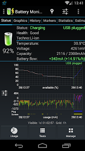 3C Battery Manager Pro Mod Apk (Pro/Paid Features Unlocked) 2