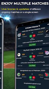 Cricket Mazza 11 Live Line & Fastest IPL Score Mod 2.08 Apk [Unlocked] 4