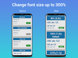 Big Font: Enlarge font - BigFont & Larger Font