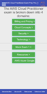AWS Certified Cloud Practitioner Exam Prep CCP PRO Screenshot