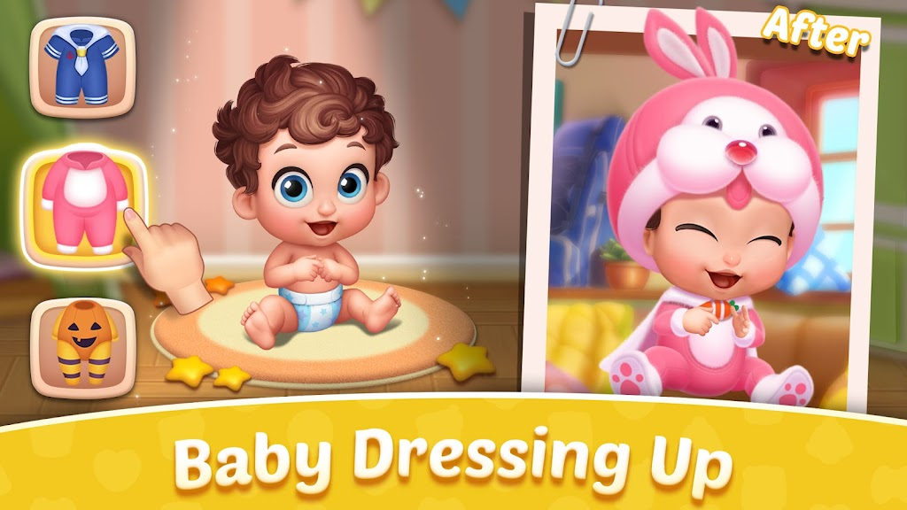 Baby Manor: Baby Raising Simulation & Home Design  poster 0