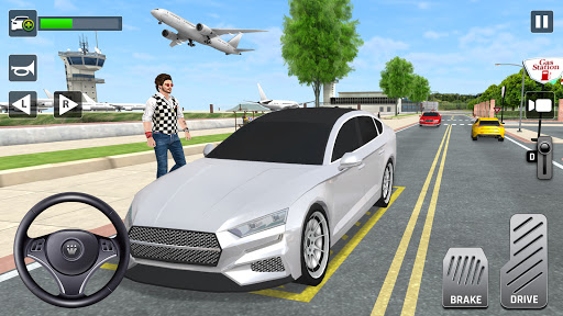 City Taxi Driving: Fun 3D Car Driver Simulator  screenshots 1